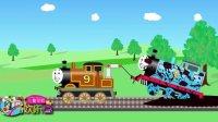 小托马斯小火车遇到困难需要救援