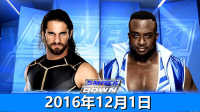 WWE2016年12月1日赛斯罗林斯vs大E-佰威中文解说WW