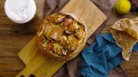 黄油培根面包盒|太阳猫早餐