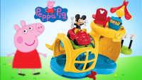 大雄的玩具世界 2016 小猪佩奇米奇老鼠豪华车库 764