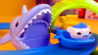 海底小纵队 巴克队长在大白鲨轨道 轨道玩具