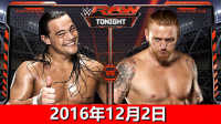 WWE2016年12月7日博神pk逗神:博达拉斯vs斯莱特尔