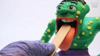 【超萌动画】绿巨人看牙医