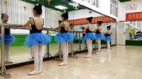芭蕾舞—双手扶把一位擦地练习