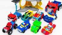 变形金刚玩具 玩具斧 救援机器人 擎天柱 钢锁  热浪 Transformers Optimus Prime Tide 变形金刚:打败摩洛机器人★玩具机器人