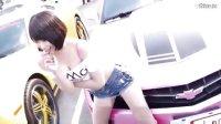 """【阳哥转载】台湾美女车模""""奶精""""李玟儒。性感火辣,长腿露胸。"""