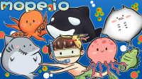 【风笑试玩】奇怪的海洋生物链丨mope.io #2