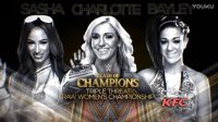 WWE Clash of Champions 2016 RAW女子冠军赛:Charlotte vs