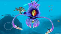 饥饿的鲨鱼世界 超级boss霸王乌贼