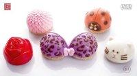莫夫教室-大丽花、甲壳虫菠萝泡芙装饰甜品制作流程
