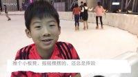 我是一个学溜冰的小男孩