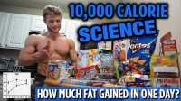 Jeff Nippard - 科学讲解挑战一万卡路里丨一天会获得多少脂肪 - 161