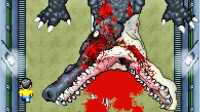 【逍遥小枫】风骚走位迎战巨型鳄鱼BOSS!野比大雄的生化危机2-aaa的正统续作#6