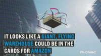 亚马逊已为巨型空中仓库申请专利