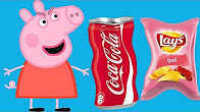 粉红猪小妹做运动减肥拒绝垃圾食品 33