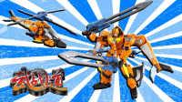 武战道 逆风旋 变形直升飞机机器人 变形金刚 鳕鱼乐园玩具分享