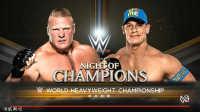 WWE世界冠军赛!布洛克莱斯纳vs约翰塞纳-佰威解