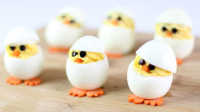 萌到爆的小黄鸡鸡蛋杯【来下厨吧】