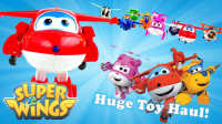 超级飞侠 玩具试玩 飞机和直升机 Super Wing