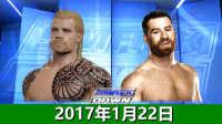 WWE2017年1月22日战神vs萨米扎恩-佰威解说WWE2K16生涯