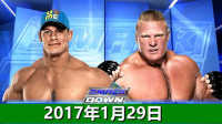 WWE闯入赛!战神帮助约翰塞纳vs猛兽布洛克莱斯纳