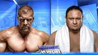 WWE2017年2月3日萨摩亚乔vs王中之王HHH-佰威中文解