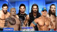 WWE2017年2月13日生涯模式:六人淘汰赛!约翰塞纳