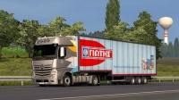 『干部来袭』欧洲卡车模拟2 低底盘奔驰MP4 油老虎