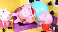 粉红猪小妹爱打扮 小猪苏西和小猪佩奇一起学化妆 284