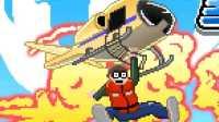 【逍遥小枫】手残必备!像素版的直升机飓风营救?| 弯刀(Choppa)