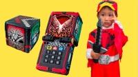 【happy face】【children】面包超人  动物战队 变身玩具