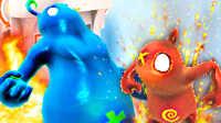 【屌德斯&小熙】 红蓝小人大冒险 这游戏简直就是友谊粉碎机!逗比兄妹爆笑互坑!