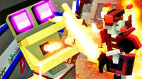 【屌德斯解说】 机器人大乱斗 火焰挑战模式 会吐火的巨型机器人登场!