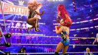 【摔跤狂热大赛32】贝基VS夏洛特VS莎夏 女子冠军