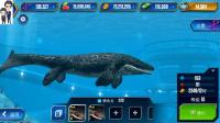 侏罗纪世界游戏第303期:倾齿龙和海诺龙★恐龙公园