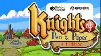【逍遥小枫】无敌狂战士,除魔勇士踏上征程!| 骑士经理(Knights of Pen)#1