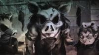 猎奇神作《2Dark》04丨猪头屠夫家的电锯惊魂!