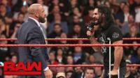 【RAW 03/27】HHH赛斯签战书 摔跤狂热大赛誓要殊死一搏
