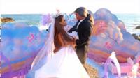 芭比长发公主和王子的海边浪漫婚礼 496