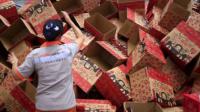 阿里巴巴 天猫超市仓储已经开始运用 人工智能 管理物流分拣