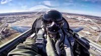美国空军T-38双座双发超音速中级教练机-驾驶舱视角