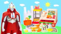 玩具益趣园 2017 奥特曼迷你超市购物玩具 61