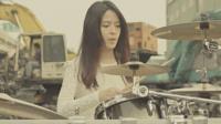 台湾美女医师女神级鼓手~小钰 - 乱舞春秋 ( 周杰伦) Drum Cover @罗小白NEW架子鼓视频