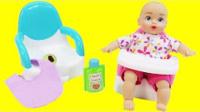 新生儿宝宝拉大便喂奶如厕训练 557