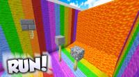 【预言】《我的世界中国版》【跑步机跑酷】#2 鬼影迷踪步 Minecraft逗比实况解说