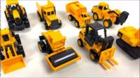 儿童电动挖掘机男孩玩具车挖土机 挖土机动画片 挖掘机工作视频 钩机工作视频 吊车视频表演