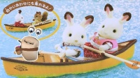森贝儿家族 兔弟弟划船春游过家家 114