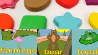 动物兄弟彩球黏土儿童英语abc少儿英语abc乖宝宝学英语