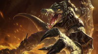 超神解说:荒漠屠夫雷克顿,完美连招详解,老鳄鱼制霸上路