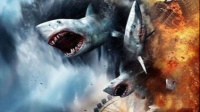 《鲨卷风2》大白鲨空降纽约城,全城摧毁